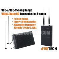 VDC-7/VDC-15 Long Range Video/Data/RC Transmission System