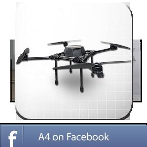 Foxtech A4 Quadcopter Platform
