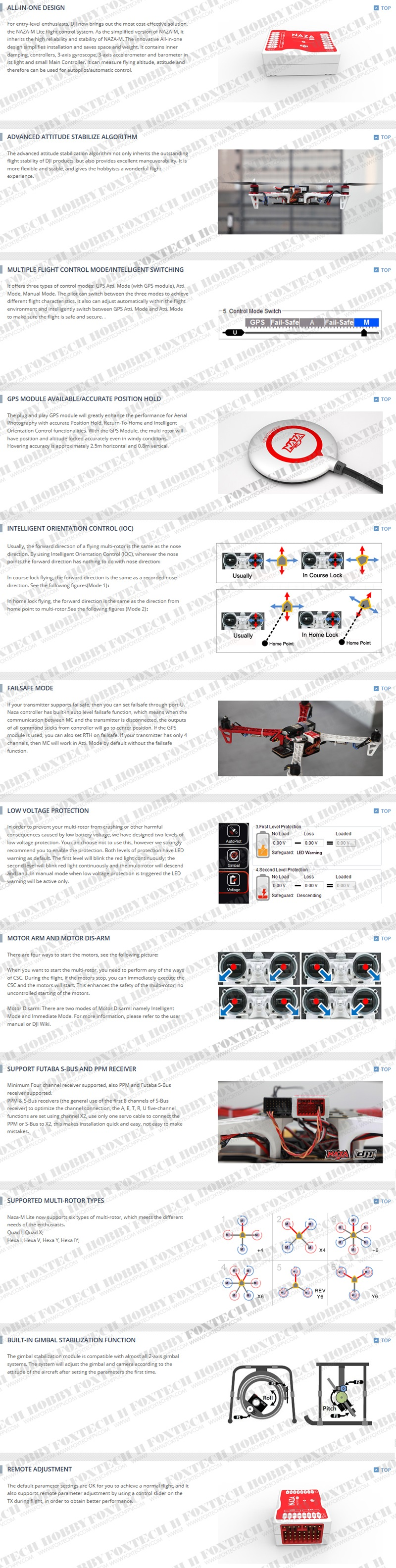 Foxtech Hobbyyour One Stop Shop For Multicopter Fpv Uav Dji T Motor Naza M Lite Wiring Diagram This Product Was Added To Our Catalog On Monday 21 May 2012