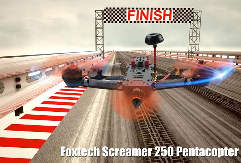 Foxtech Screamer 250 Pentacopter