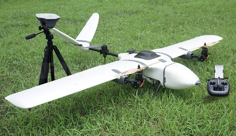 Nimbus VTOL Long endurance UAV (RTF) – Indian Drone Store